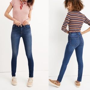 Madewell 10' High-Rise Skinny